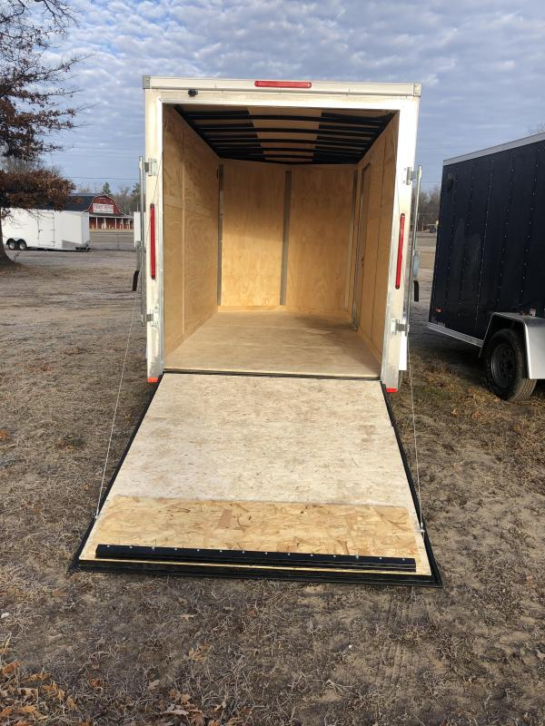 2021 MTI Trailers 6x12 ramp Enclosed Cargo Trailer