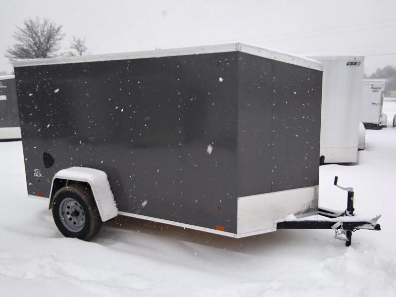 2021 Look Trailers 5 X 10 Enclosed Cargo Trailer