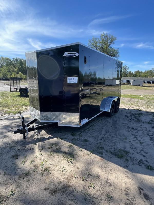 2022 Formula Trailers 7 x 16 Enclosed Cargo Trailer