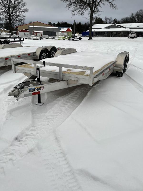 2021 H and H Trailer 82 x 18 7k Car / Racing Trailer