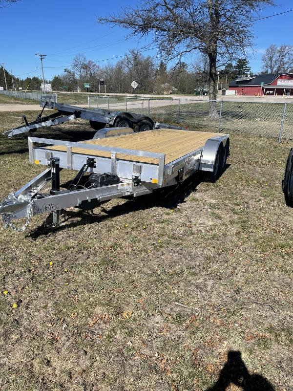2021 RC Trailers 83 x 18 tilt Car / Racing Trailer