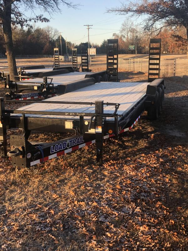 2021 Load Trail 24 foot 21k Equipment Trailer