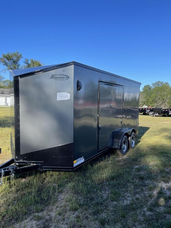 2022 Formula 7 x 16 Enclosed Cargo Trailer