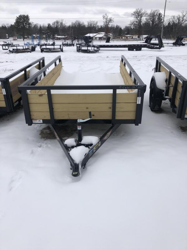 2021 H and H Trailer 5.5x10 Utility Trailer