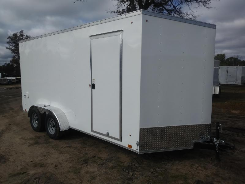 2021 Look Trailers 7 X 16 Enclosed UTV/Cargo Trailer