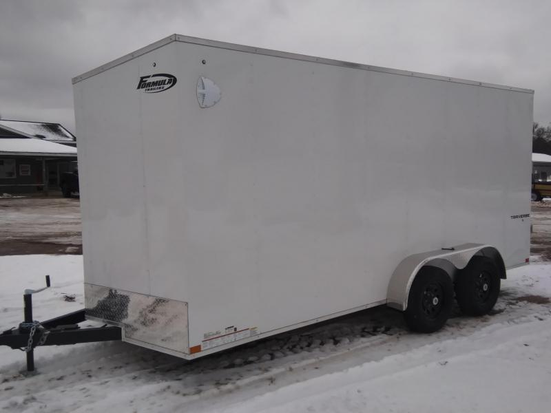 2021 Formula Trailers 7 X 16 Enclosed Cargo Trailer