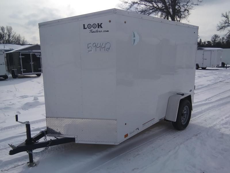 2021 Look Trailers 6 X 10 Enclosed Cargo Trailer