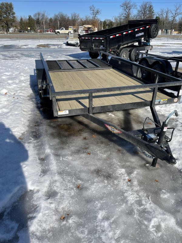 2021 H&H Trailers 82 x 18 Utility Trailer