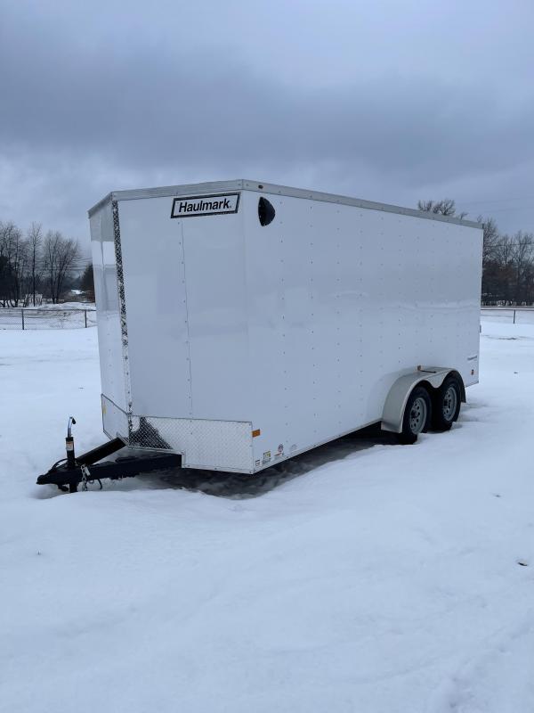 2021 Haulmark 7 x 16 Enclosed Cargo Trailer