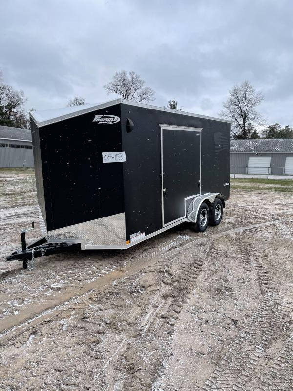 2021 Formula Trailers 7 x 16 ramp Enclosed Cargo Trailer