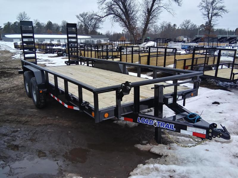 "2021 Load Trail 83"" X 18' 14K Pipe Top Equipment Trailer"
