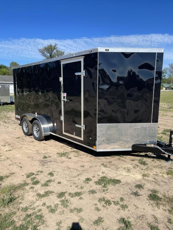 2021 Rhino Trailers 7 x 16 barn Enclosed Cargo Trailer