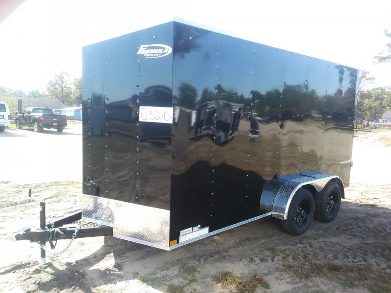 2021 Formula Trailers 7 X 14 Enclosed Cargo Trailer
