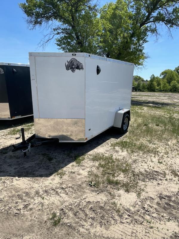 2021 Rhino Trailers 6 x 10 ramp Enclosed Cargo Trailer