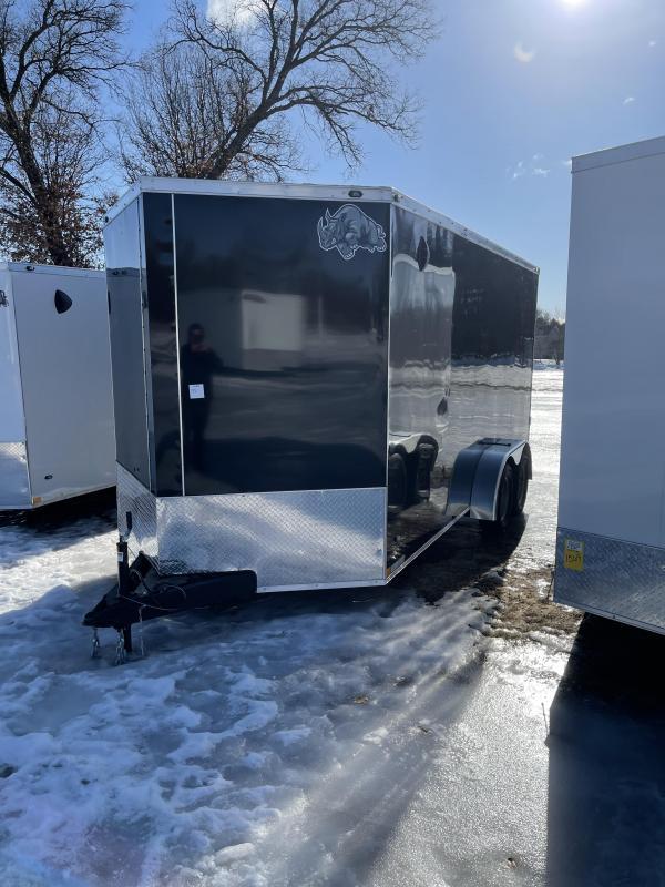 2021 Rhino Trailers 7 x 16 ramp Enclosed Cargo Trailer