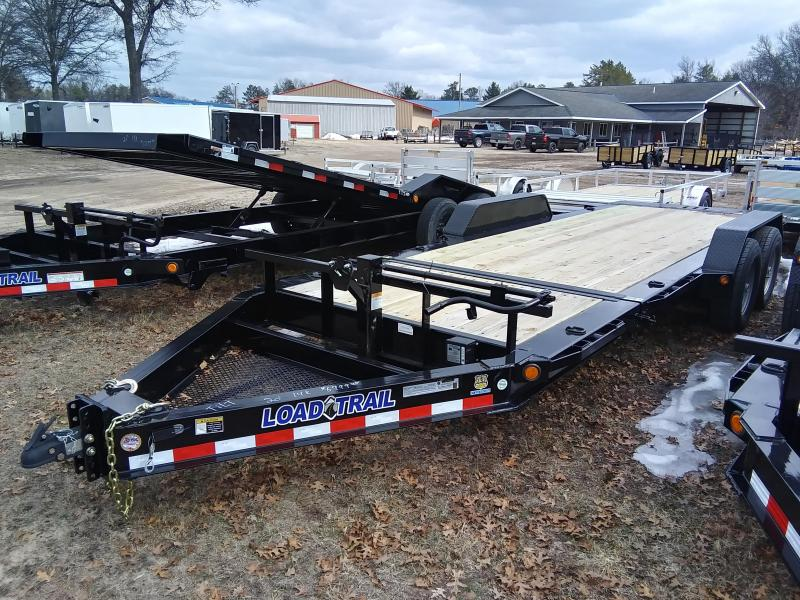 2021 Load Trail 20' 14K Tilt Deck Equipment Trailer