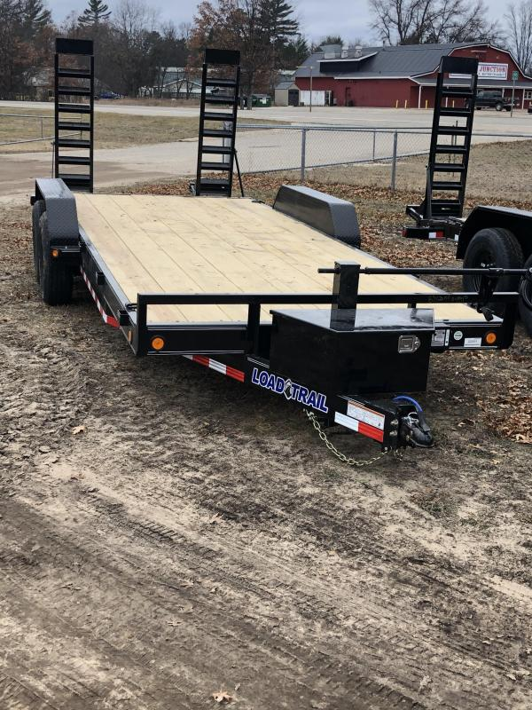 2021 Load Trail 83x18 14k Equipment Trailer
