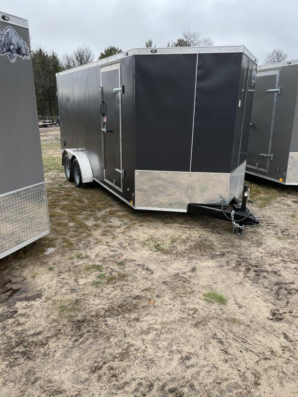 2021 Rhino Trailers 7 x 16 barn Enclosed Cargo Trailer