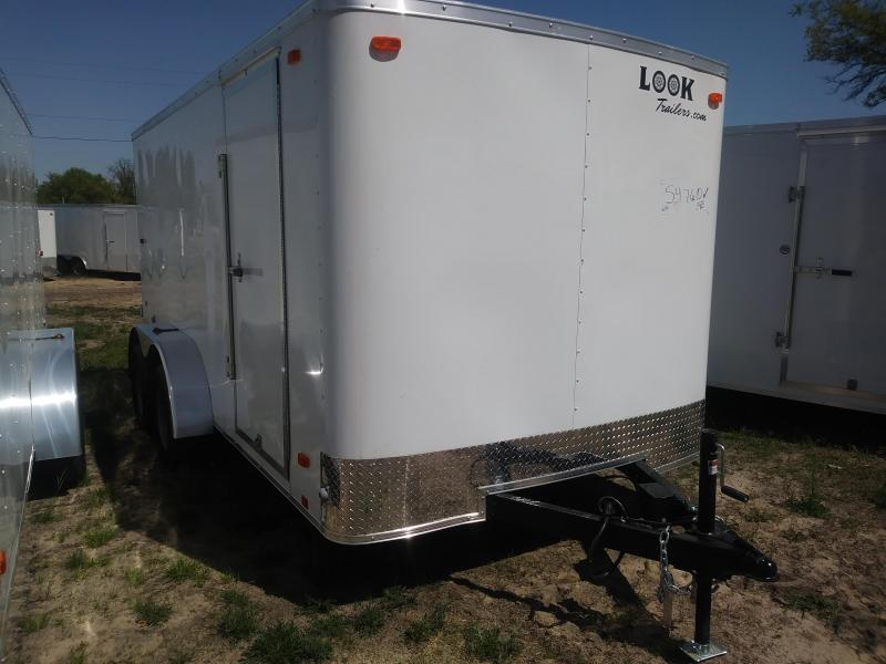 2021 Look Trailers 7X14 Cargo / Enclosed Trailer