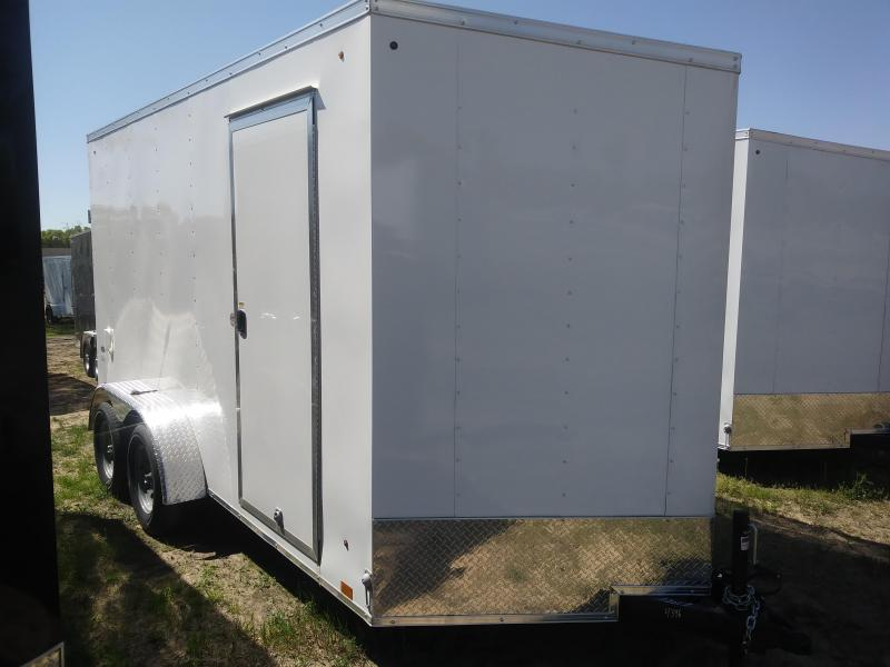 2021 Look Trailers 7X14 Deluxe Cargo / Enclosed Trailer