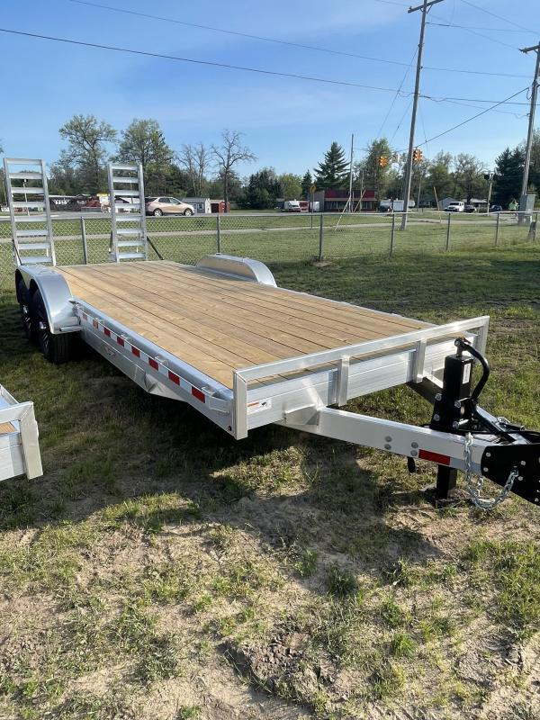 2021 H and H Trailer 83 x 20 Equipment Trailer