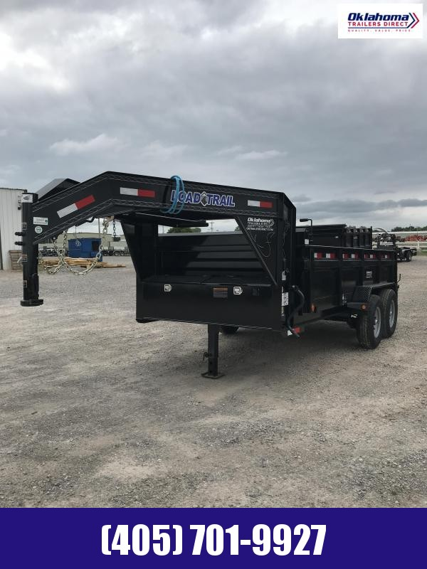 "2021 Load Trail 83"" X 14' TA Gooseneck Dump Trailer"