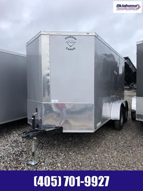 2022 Diamond Cargo 6' x12' TA Enclosed Trailer