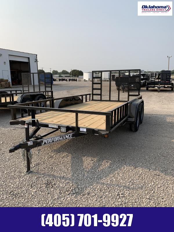 "2021 Performance Trailers 77"" x 14'  Utility Trailer"