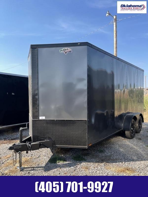 2022 Diamond 7 x 16 TA Enclosed Cargo Trailer