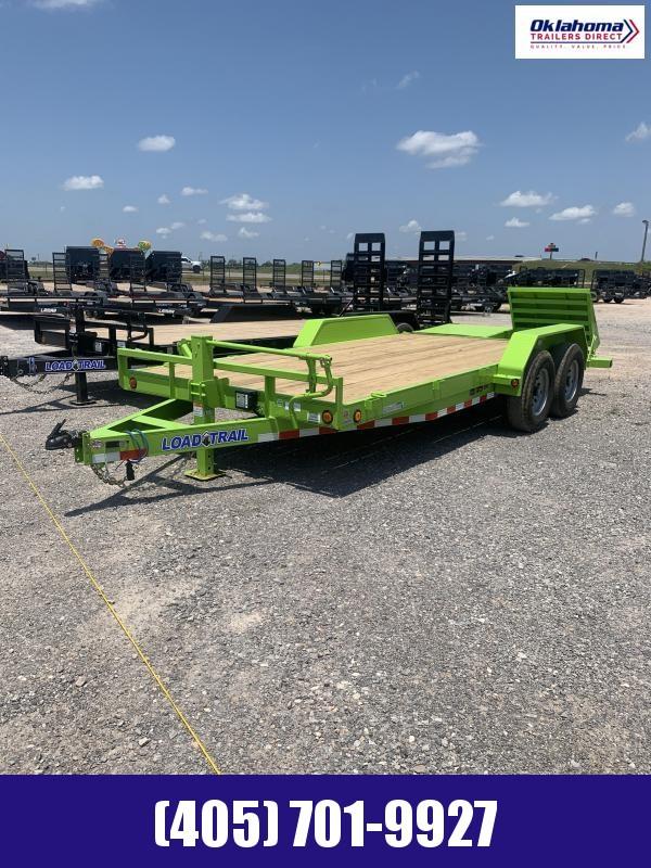 """2022 Load Trail 83"""" x 18' TA Equipment Trailer"""
