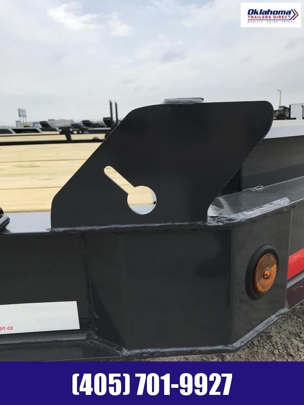"""2021 Iron Bull 83"""" x 20' TA Equipment Trailer Equipment Trailer"""