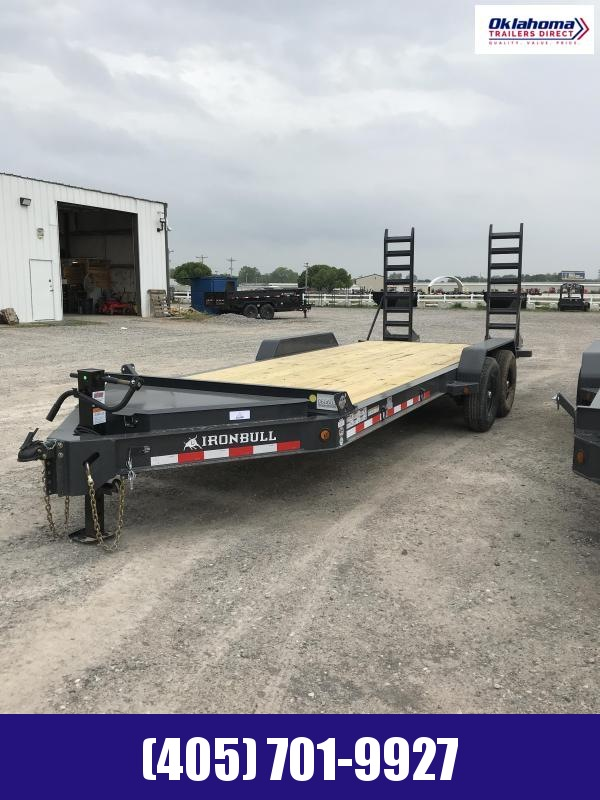 "2021 Iron Bull 83"" x 20' TA Equipment Trailer Equipment Trailer"