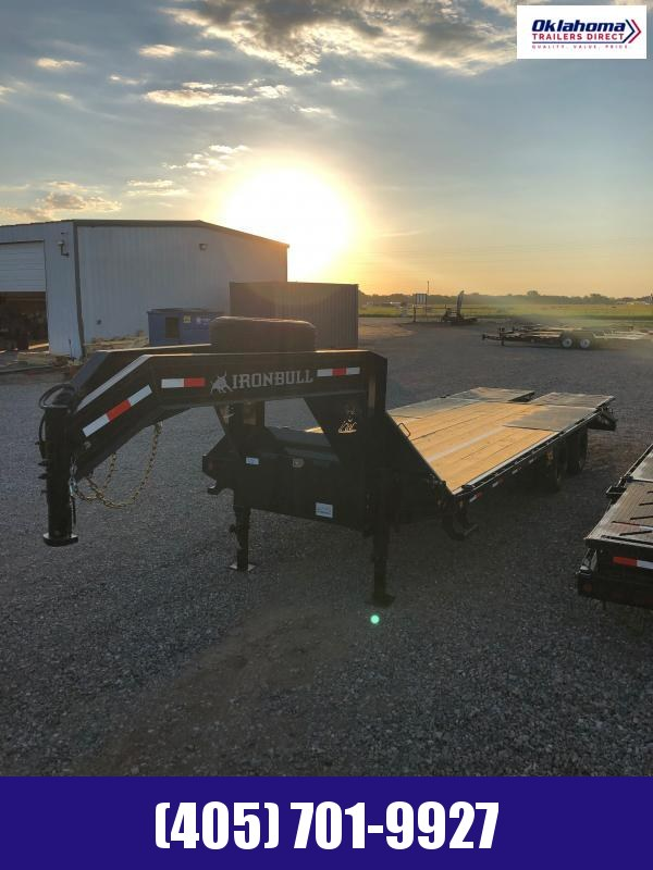 "2021 Iron Bull 102"" x 25' Equipment Trailer"