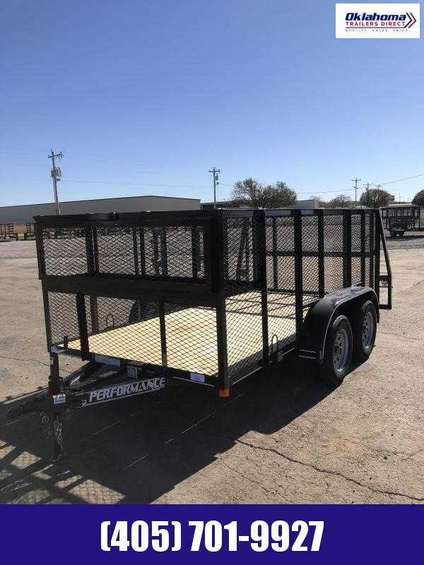 2021 Performance Trailers 77 x 12' TA Landscape Trailer Equipment Trailer