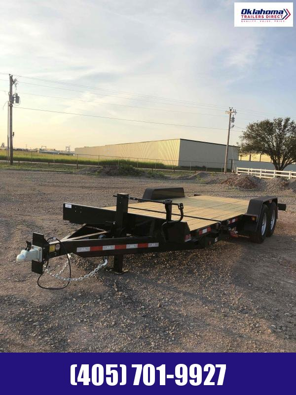 2021 Behnke 7'x 20' Tilt Deck Equipment Trailer