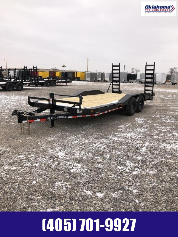 "2021 Iron Bull 102"" X 20' TA Equipment Trailer"