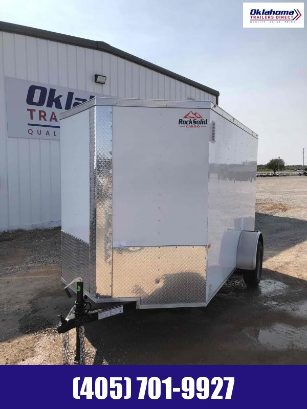 2020 Rock Solid Cargo 6'x10' SA Enclosed Cargo Trailer