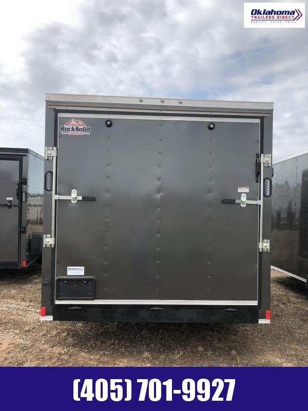 2020 Rock Solid Cargo 7' x 16' TA Enclosed Cargo Trailer