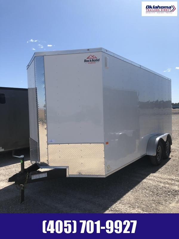 2020 Rock Solid Cargo 7'x16' TA Enclosed Cargo Trailer