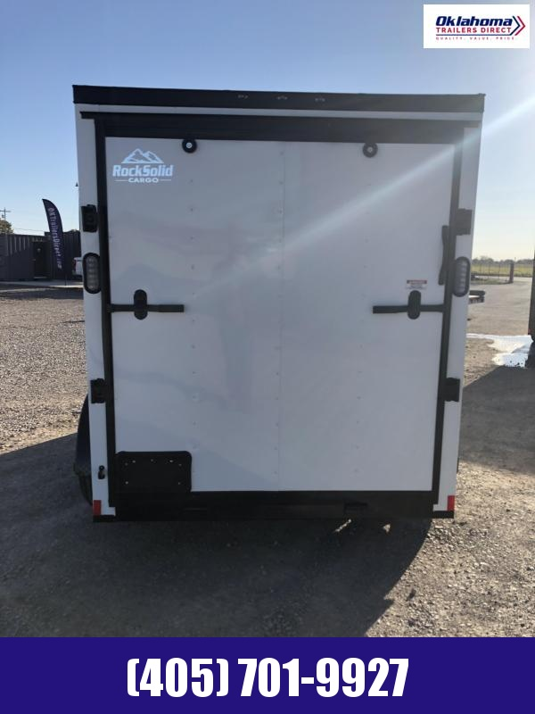 2021 Rock Solid Cargo 6' x 12' TA Enclosed Cargo Trailer