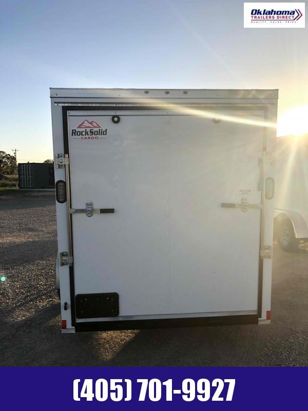 2020 Rock Solid Cargo 6' x 12' Enclosed Cargo Trailer