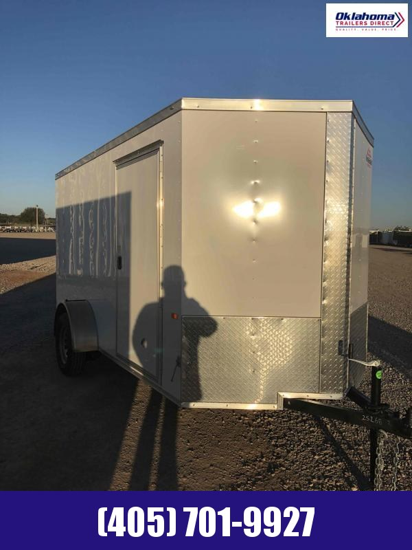 2020 Rock Solid Cargo 6' x 12' Enclosed Cargo Trailer