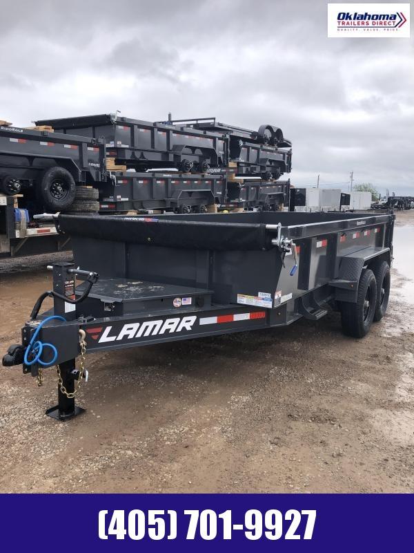 2022 Lamar Trailers 83 x 14 TA Low Pro Dump Trailer