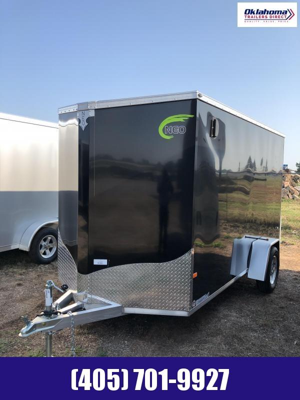 2021 NEO Trailers 6' X 12' Enclosed Cargo Trailer