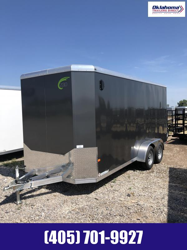 2021 NEO 7' X 16' Enclosed Cargo Trailer