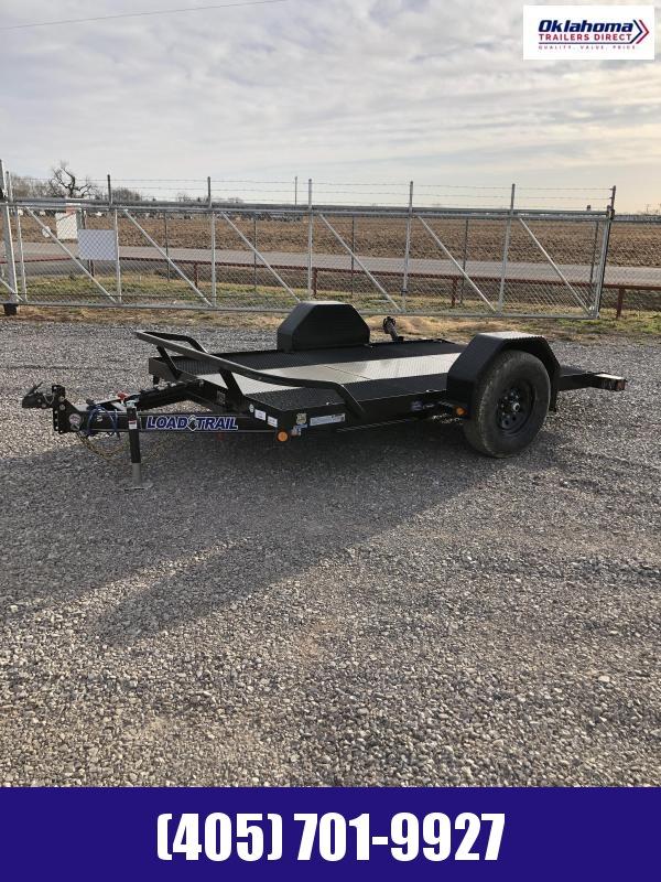 "2021 Load Trail 77"" X 12' SA Scissor Hauler Equipment Trailer"