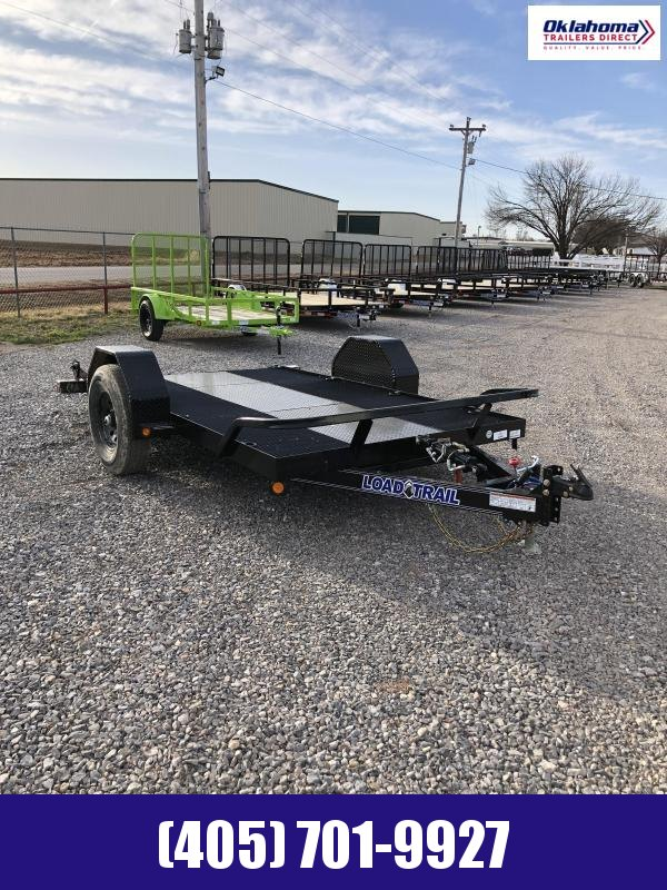 "2021 Load Trail 77"" X 12' SA Scissor Hauler Equipment Trailer"