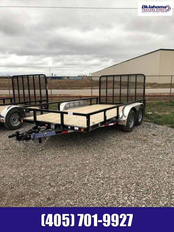 "2021 Load Trail 83"" x 14' TA Utility Trailer"