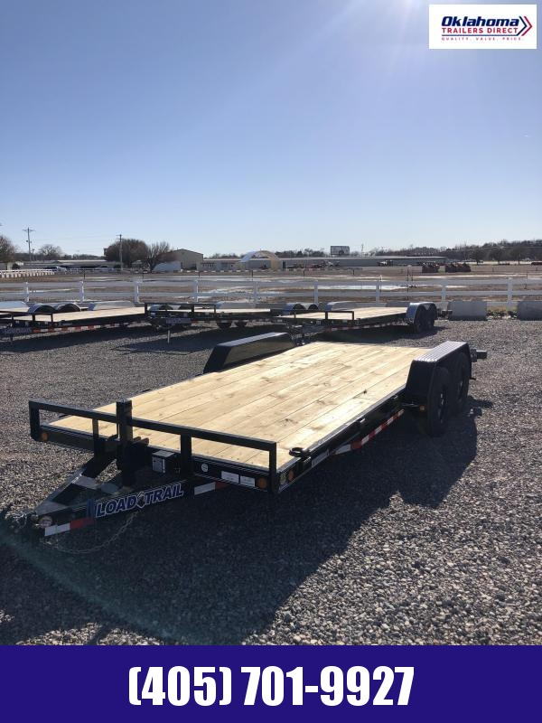 2021 Load Trail 83 x 18' TA Equipment Trailer