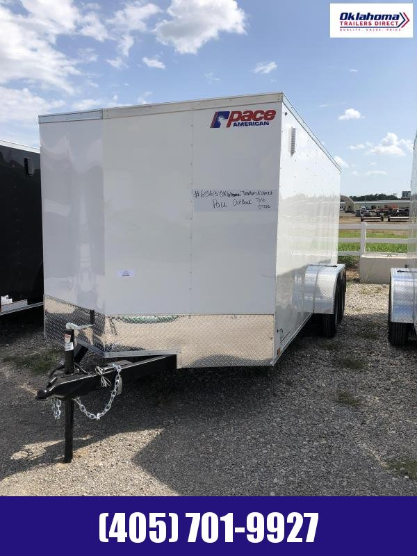 2022 Pace American 7' x 16' TA Enclosed Cargo Trailer